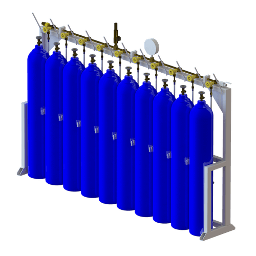 LINEAR MANIFOLD WITH CYLINDERS